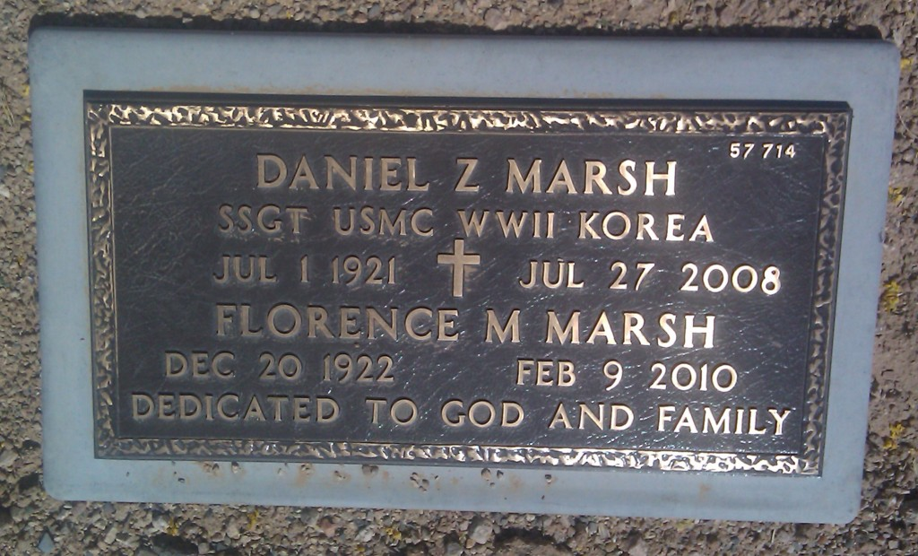 Mom & Dad's Grave Site